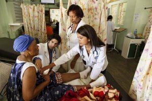 Caribbean doctors nurses